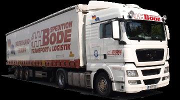 truck of transportation company